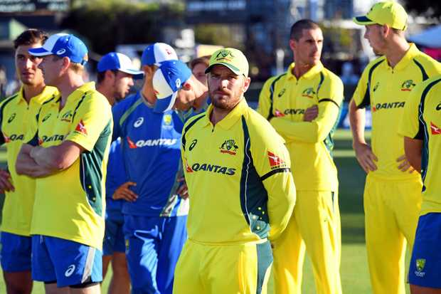 Aaron Finch, captain of Australia, after his teams series defeat to New Zealand in the Chappell Hadlee ODI series.