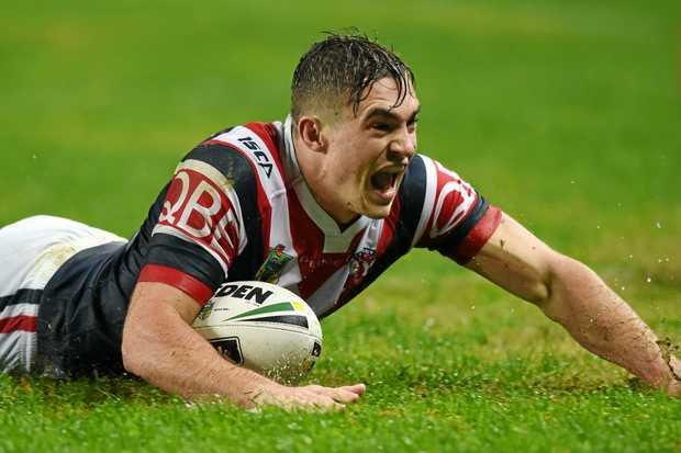 Connor Watson was one of the stars at the Auckland Nines for the Roosters