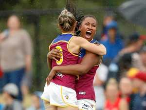 Brisbane Lions reign supreme in first AFLW clash