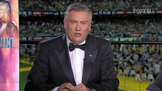 Eddie McGuire hosts the Mundine-Green bout in Adelaide.