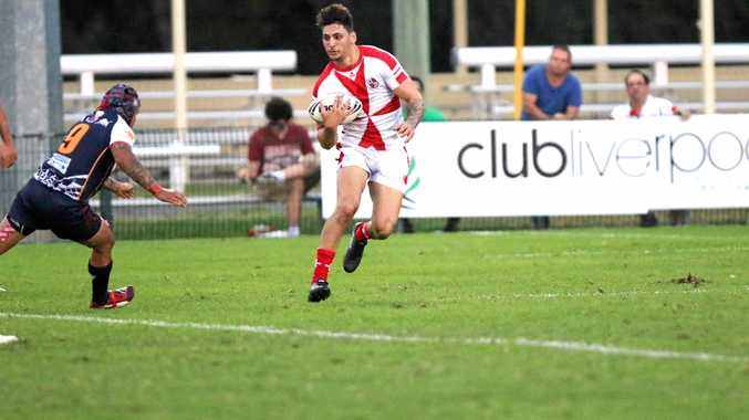 Mackay's Nathan Benson scored 16 points in his debut game for Malta Rugby League against the Philippines in Sydney at the weekend.