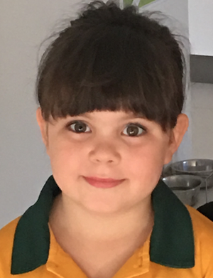 Annalise Nulty, aged 6, is already learning about money management.