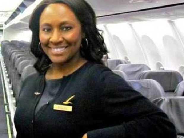 Veteran flight attendant Shelia Fedrick stepped in when she felt a teenage girl on her flight was in trouble. She was right. Source:Facebook