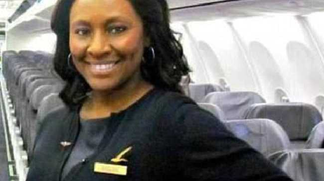 Veteran flight attendant Shelia Fedrick stepped in when she felt a teenage girl on her flight was in trouble. She was right. Source:Facebook