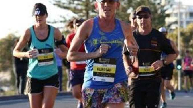 IRON WOMAN: Toowoomba's Kerrian Sawyer will run seven marathons in seven days across seven states later this year.