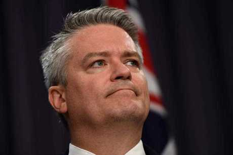 Finance Minister Mathias Cormann said Labor — and not the Coalition — should be more concerned about Bernardi's decision.
