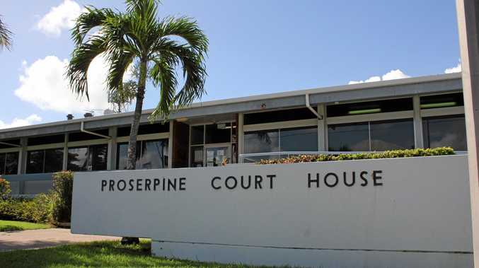 A man faced Proserpine Magistrates Court after drugs and a bong were found in his Cannonvale home.