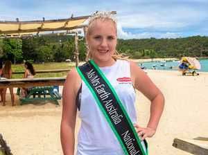 Miss Earth entrant saving marine life