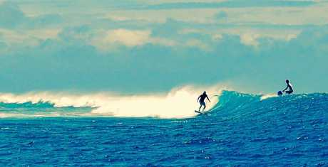 SURF'S UP: Surfing, stand-up paddle boarding and kite-surfing are some of the activities available.