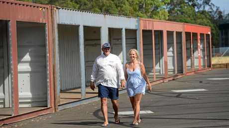 Lanasmarkets Cliff Crampton and partner Kellie Sheehy