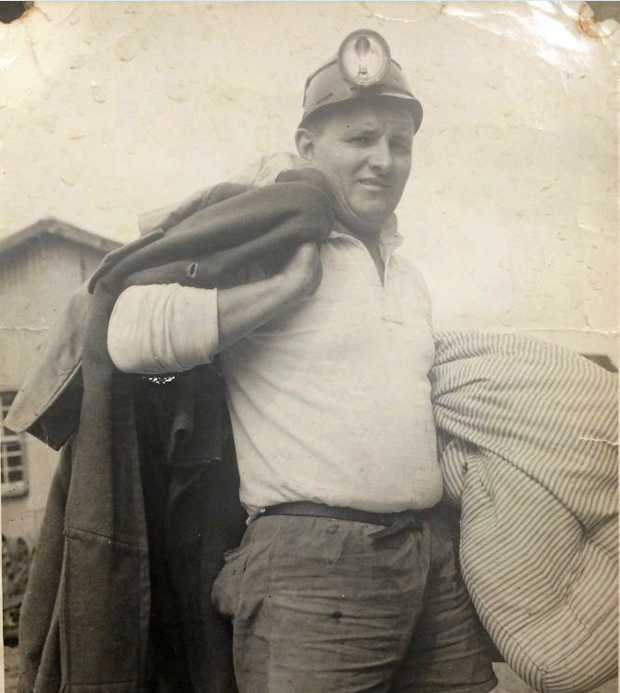 Gary Rohl worked in the Ipswich coal mines most of his life and almost lost an arm in one accident.