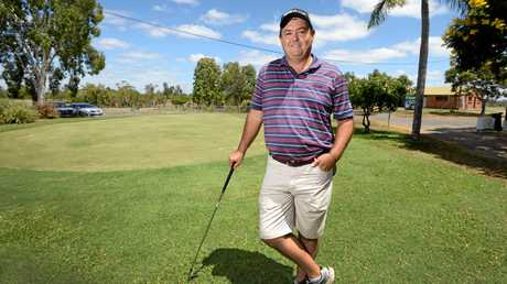 North Rockhampton Golf Club pro Andrew Humble.