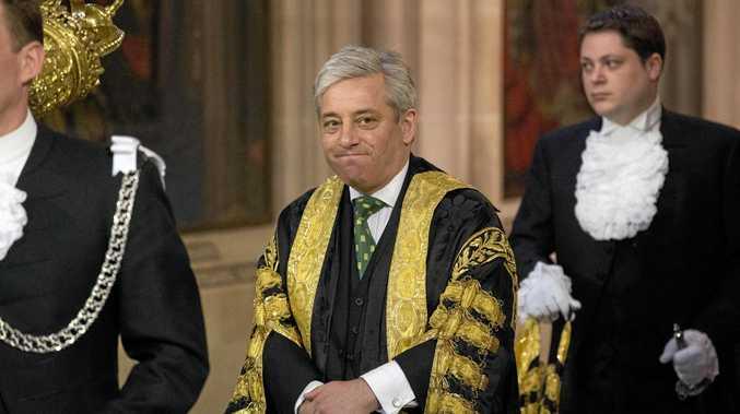 Britain's Speaker of the House of Commons John Bercow.