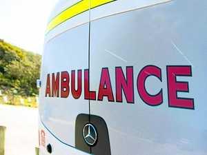 Two men hospitalised after Cunningham Hwy crash