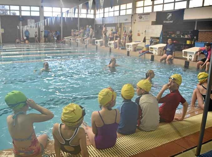 RECORDS: World's largest swim class at The Glennie Aquatic Centre.