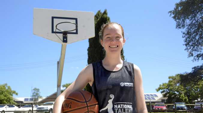 HOOP DREAMS: Centenary Heights School student Jasmine Gardiner will represent New Zealand in Basketball.