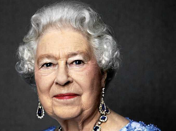 This photo by English photographer David Bailey of Britain's Queen Elizabeth II, taken in 2014, has been reissued by Buckingham Palace to celebrate her Sapphire Anniversary, marking the 65th anniversary of the monarch's accession to the throne. In the photo, the Queen is wearing a suite of sapphire jewellery originally given to her by her father King George VI as a wedding gift in 1947.