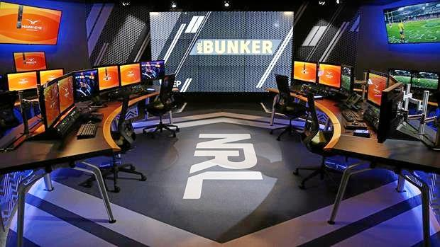 Inside the NRL's bunker.