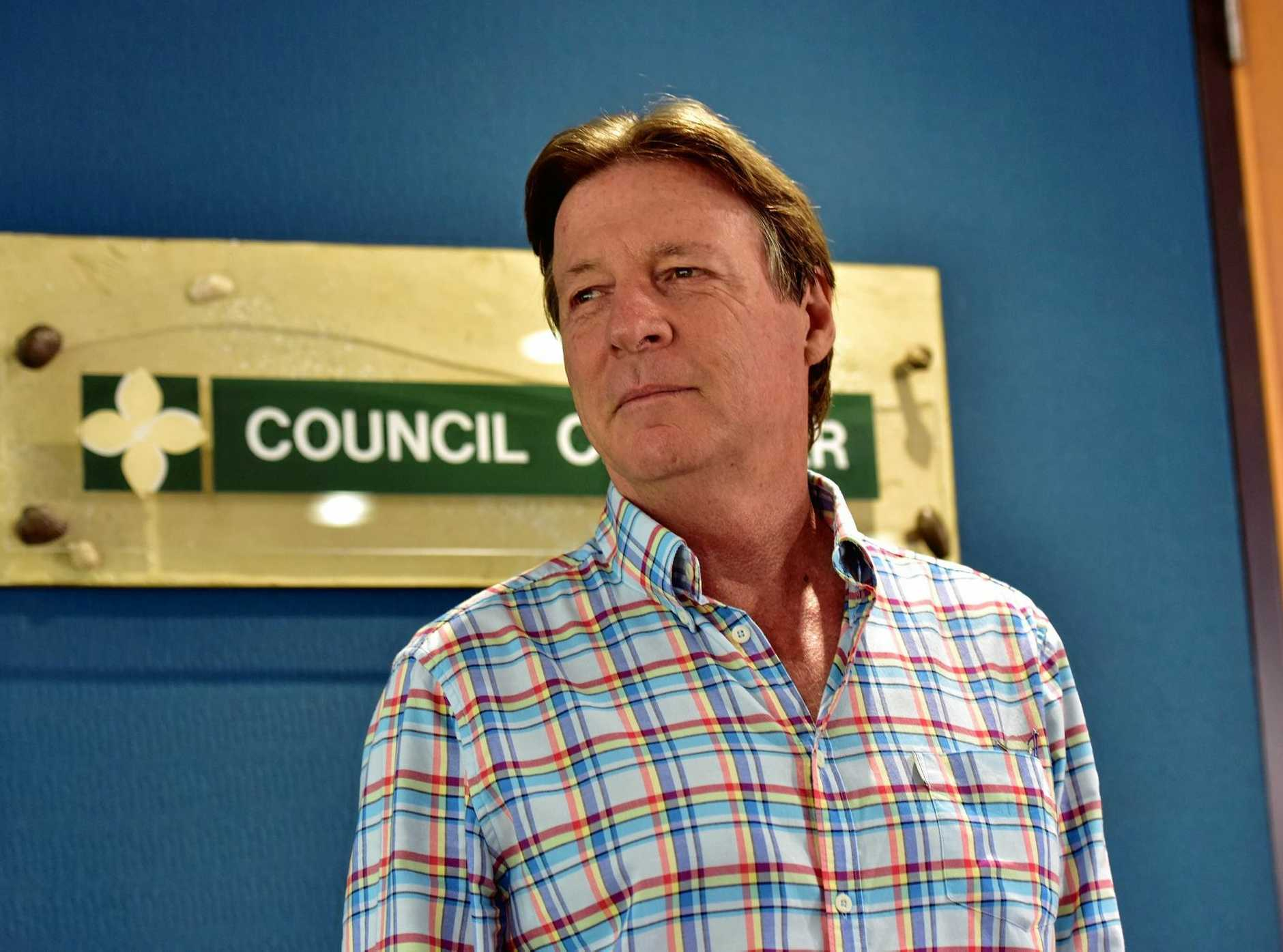 ALLEGATIONS: Noosa Mayor Tony Wellington.