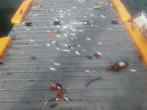 'Grubs' make mess of Victor Creek boat ramp