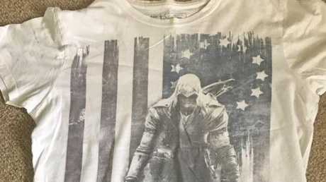 DEAD OR ALIVE: This Assassin's Creed t-shirt is described as