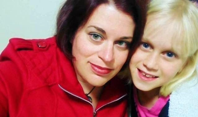 LIFESAVER: Casino's Amy Michelle with her daughter Alyssa who was saved from choking by her mother.