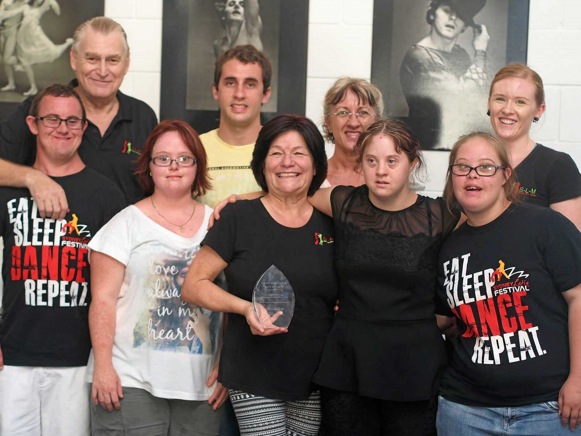 From Back Left - Ron Morris, TJ Straw, Caralyn Straw, Lenetia Stretton, Front Left - Shannon Holford, Donna Barnett, Diane Smedley, Tammy Straw and Teegan O'Keeffe.