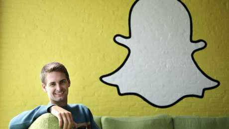 Snapchat co-founder CEO Evan Spiegel. (Pic: AP /Jae Hong)