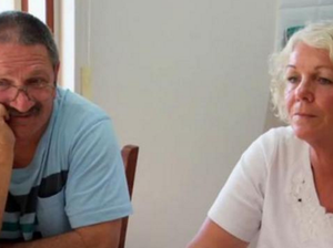 Chris approached his parents with trepidation. Picture: Picture: Channel 7