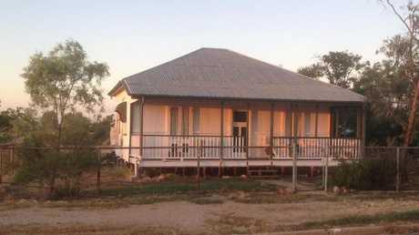 The home at Muttaburra.