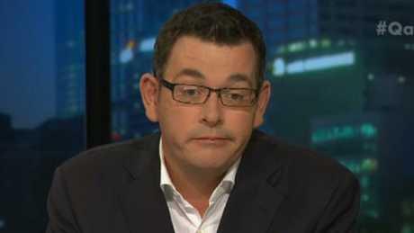 Victoria Premier Daniel Andrews is not a fan of Liberal Senator Cory Bernardi.