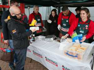 First Aussie review of UK Bunnings sausage sizzle