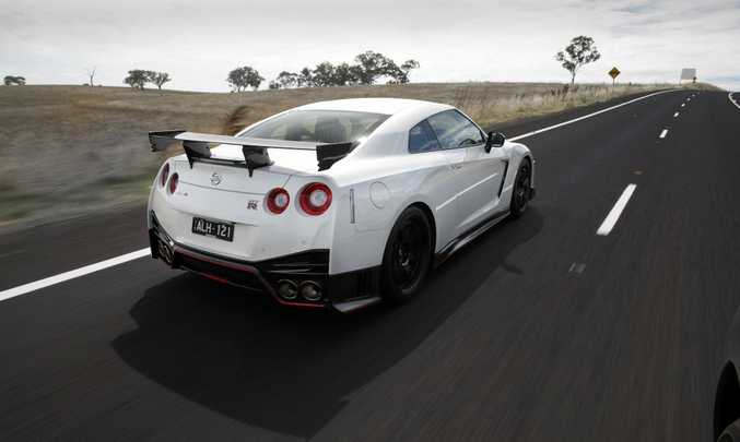 MAYBE NEXT YEAR? Nissan GT-R Nismo didn't have a crack at the Bathurst production car lap record, but we fancy it'd be a strong contender to top the charts.