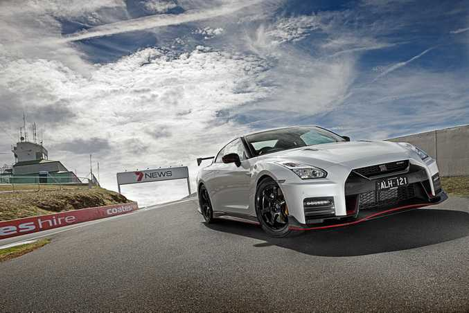 RACING BREED: The Nissan GT-R Nismo is finally on sale in Australia for $299,000, and where better to test this track-ready supercar than flat out at Mount Panorama.