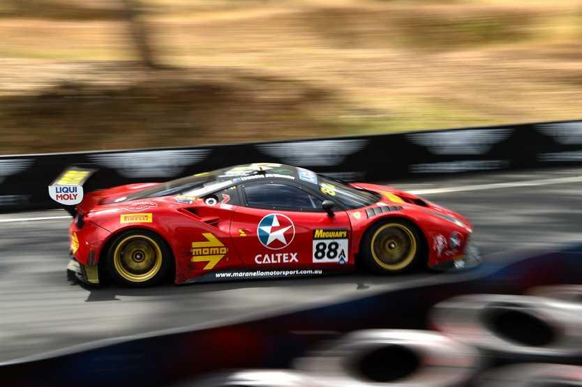 RACE WINNER: Lowndes/Whincup/Vilander Ferrari 488 GT3