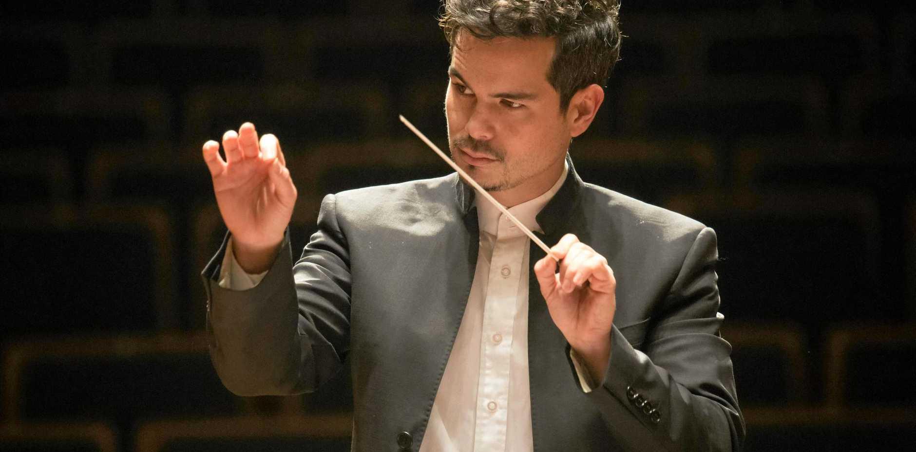 Brisbane-born Chinese-Australian conductor and Principal Conductor of China's Symphony Orchestra, Dane Lam.