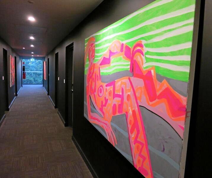 Corridor At Schaller Studio