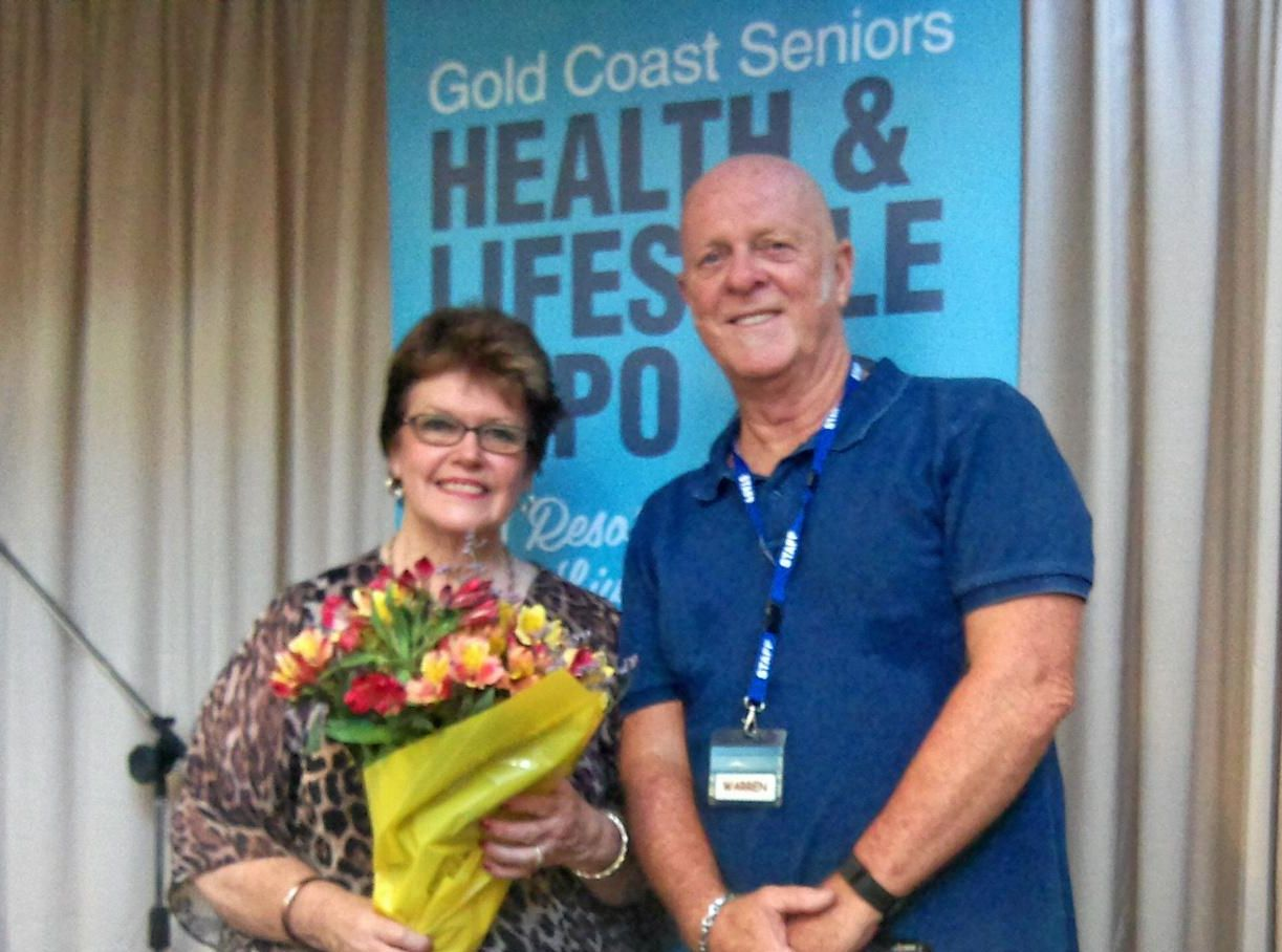 Cr Daphne MacDonald and Warren Elwell will be attending the Gold Coast Seniors Health & Lifestyle Expo Palm Beach.