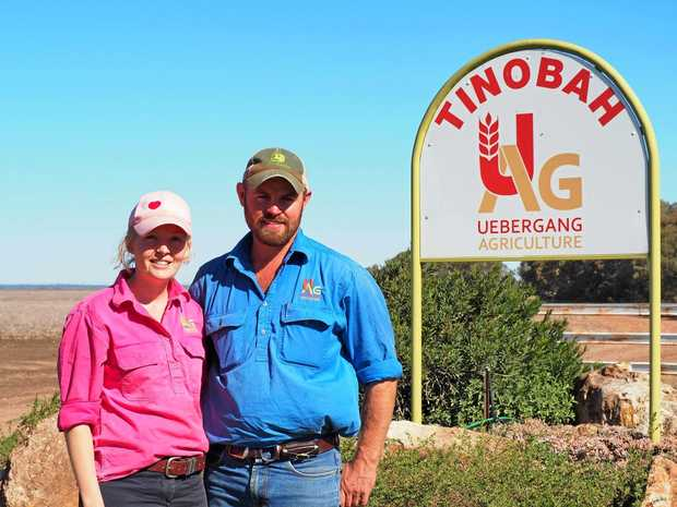 KNOWLEDGE TO GIVE: Ingrid and Ross Uebergang are set to host a cotton field day at their property, Tinobah.