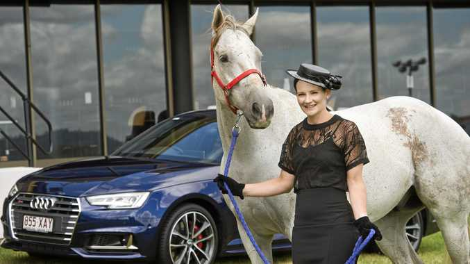 2017 Face Of Weetwood Robyn Carter at Toowoomba Turf Club today.