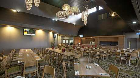 SPEED DATE: Harrup Park Country Club dining facilities.