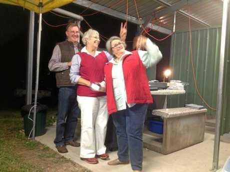 Susie Whitehead at Waverley Creek Rest Area.