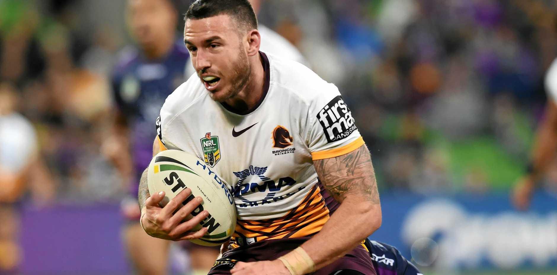 Darius Boyd of the Brisbane Broncos.
