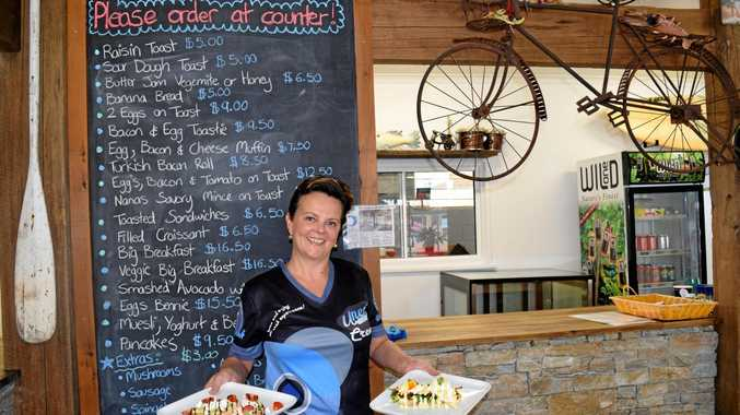 Uneek of Shakespeare's manager Gabrielle Dicarlantonio is now serving up their famous big breakies.
