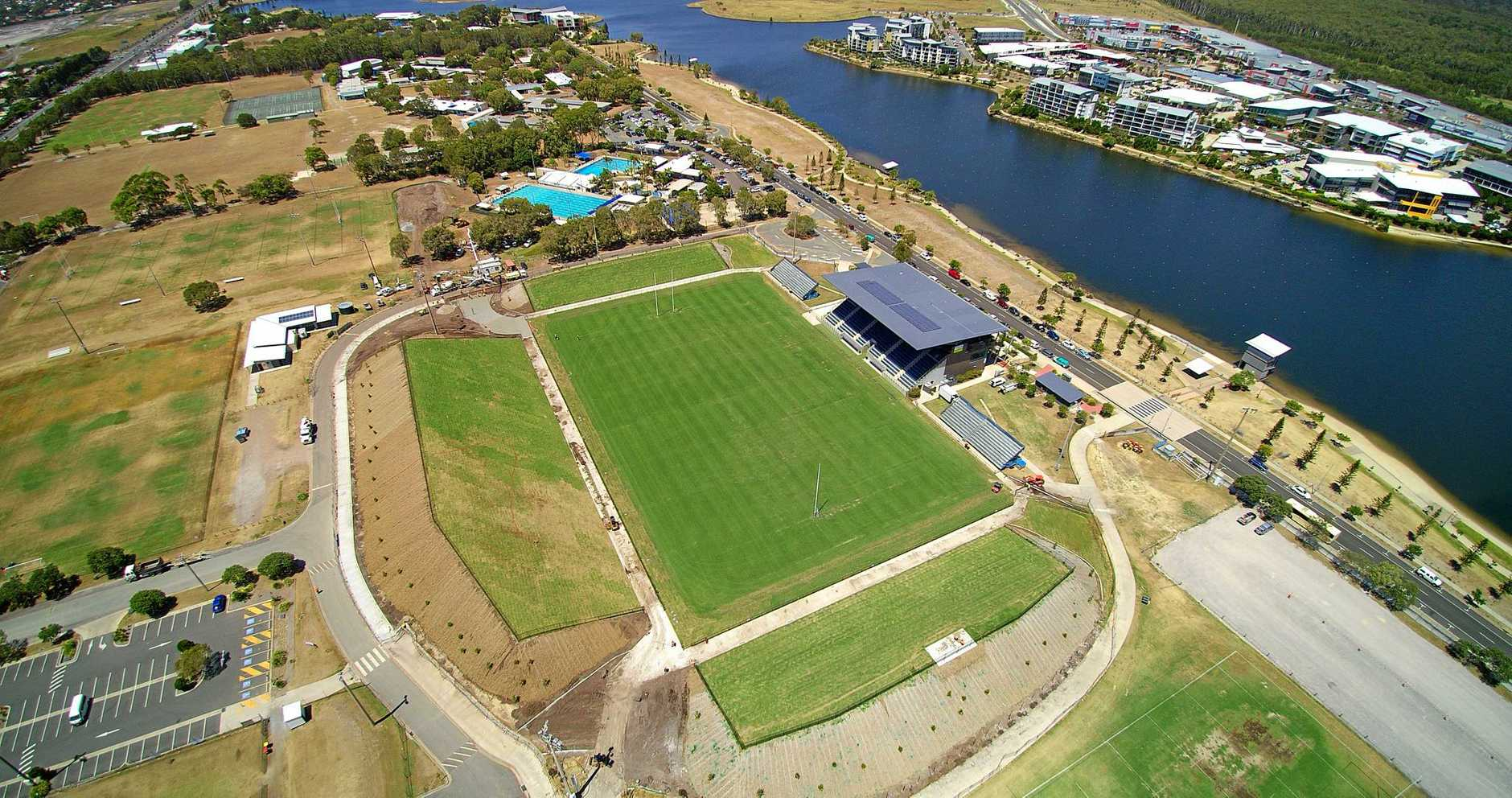 REVAMPED: Sunshine Coast Stadium.