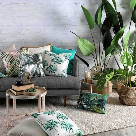 Pillow Talk's summer greenery collection.