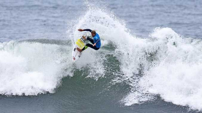 Lennox Head surfer Mikey McDonagh advanced to the fourth round of the Great Lakes Pro