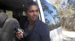 Woorabinda's Jobe Adams is a finalist in the national film competition Tropfest.