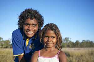 TALENTED TEEN: Jobe Adams and his cousin Yolanda have been busy making a short film about growing up in Woorabinda.