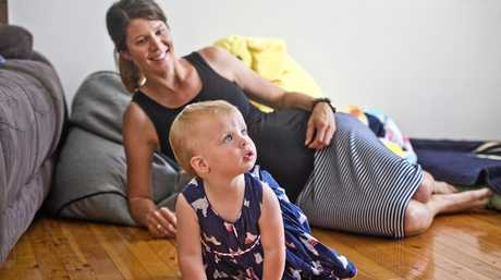 RAISING AWARENESS: Rangeville mum Laura Hunter with daughter Milla Atkinson, 1, who has hip dysplasia.